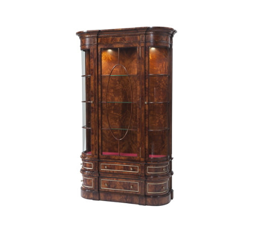 Gothic Library Display Cabinet Althorp Collection theodore alexander Princess Diana