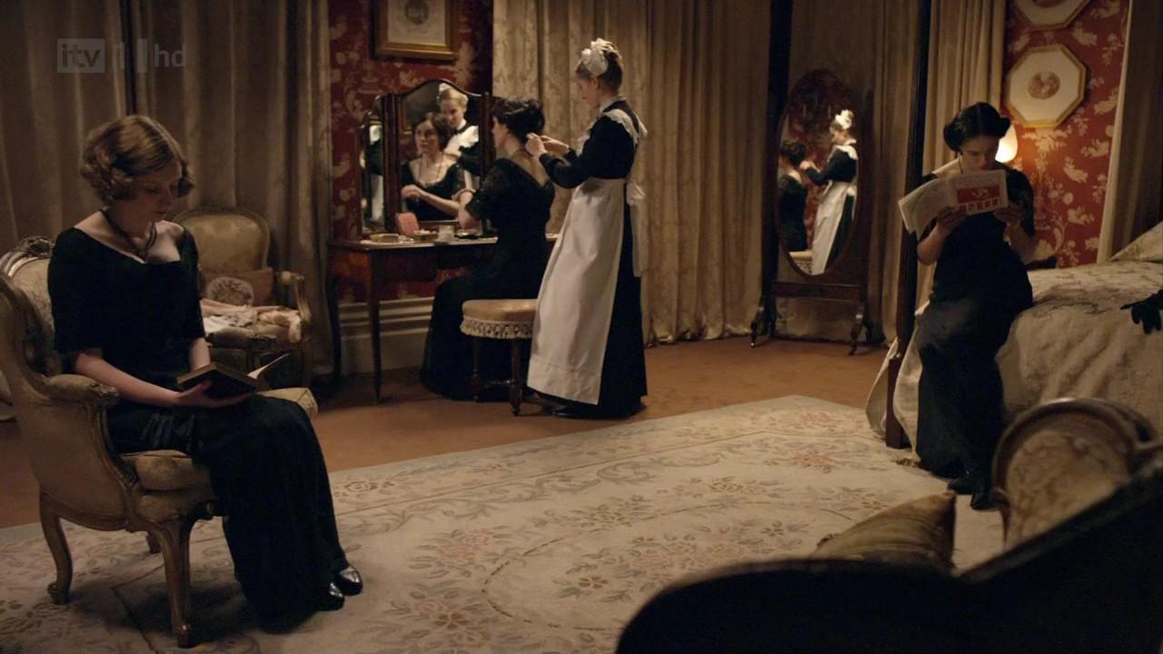 Downton Abbey Bedrooms Linda Merrill