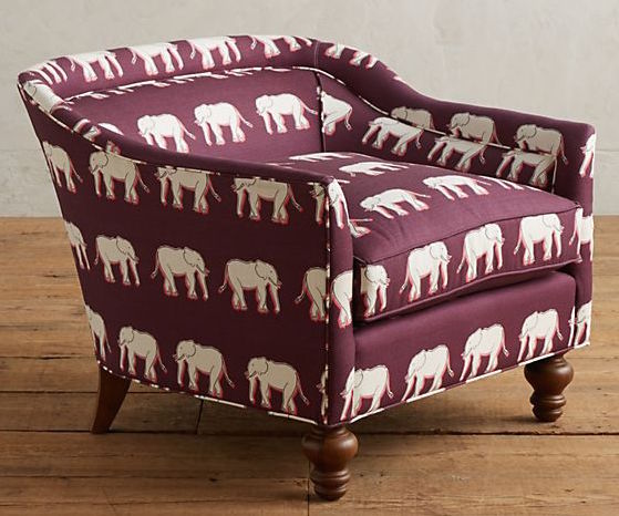 Anthropologie Sketched safari Holloway chair