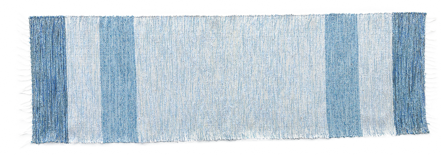 The Hampton Rug Coastal Collection blue