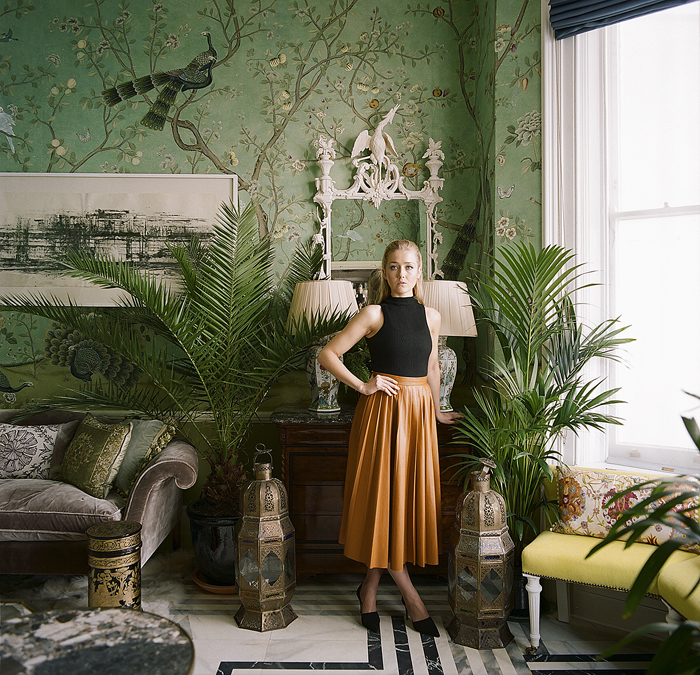 © Réalisation Marie Kalt : Photos Tobias Harvey Sharp Objects deGournay