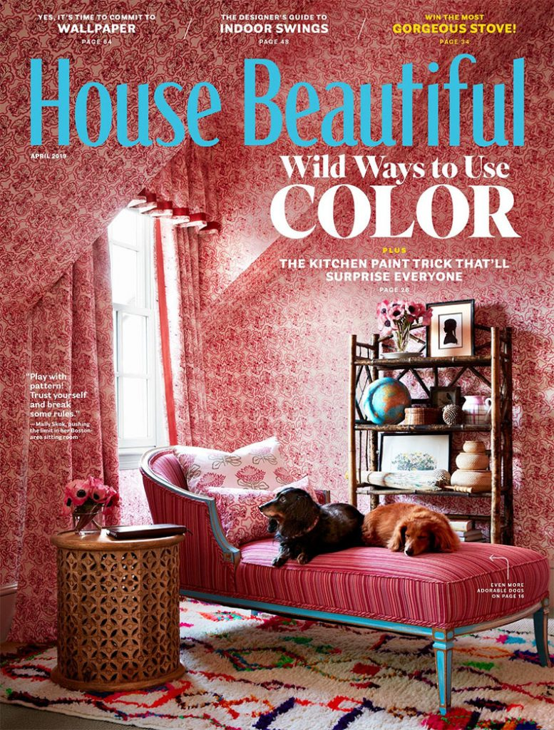 House Beautiful Mally Skok cover 2019 Design Trends