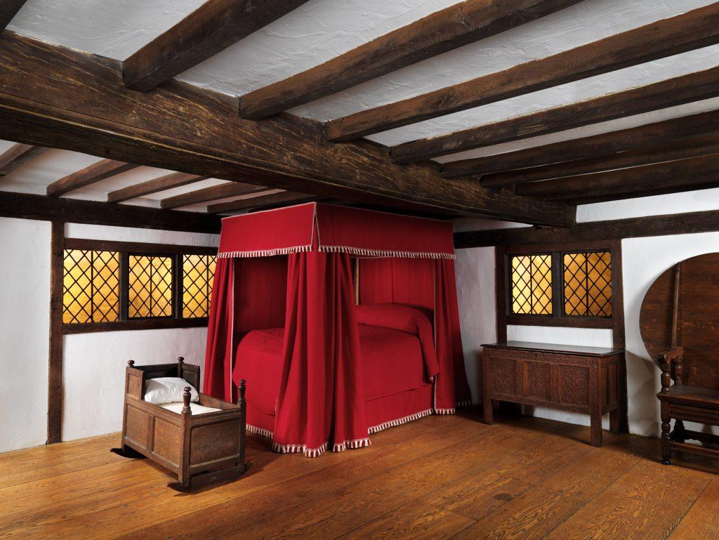Met Museum of Art Room from the Hart House, Ipswich, Massachusetts Date- 1680