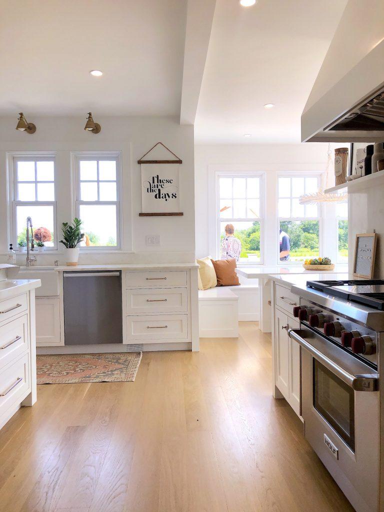 163 High Rd Newburyport Kitchen Tour 2019 Modern Black and White Kitchen LMM