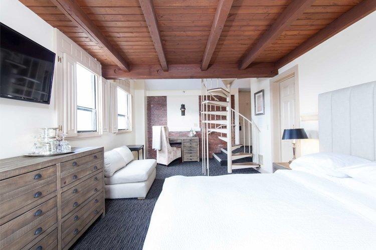 Garrison Inn Loft Room Old world hospitality