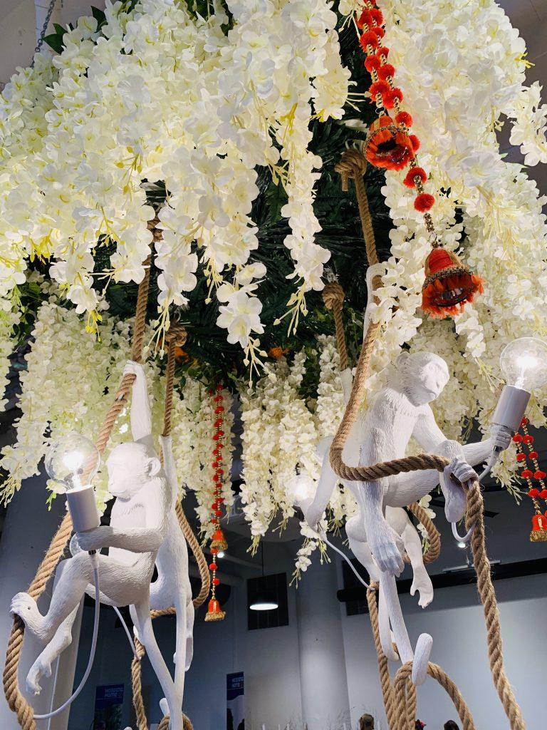 Designer Elizabeth Benedict Heading Home to dinner 2019 chandelier