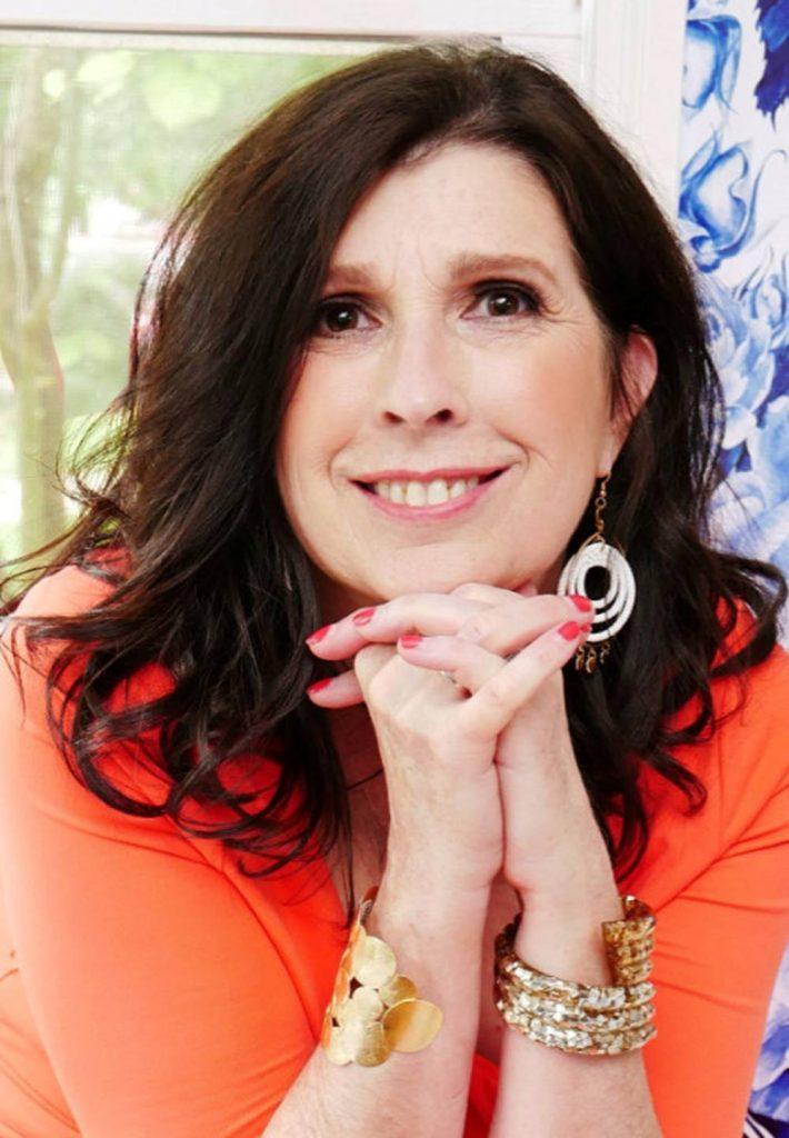 Deborah Main the pillow goddess headshot designer collections