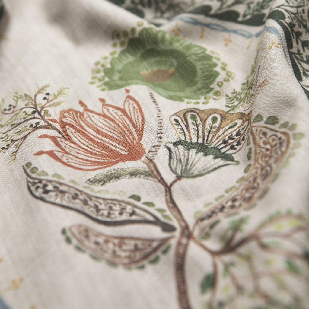 Scot Meacham Wood SMW Home Frances Chestnut fabric designer collections
