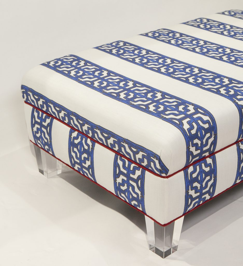 Scot Meacham Wood SMW home Pullman Ottomann Chin Stripe -Prestonfield 3 designer collections