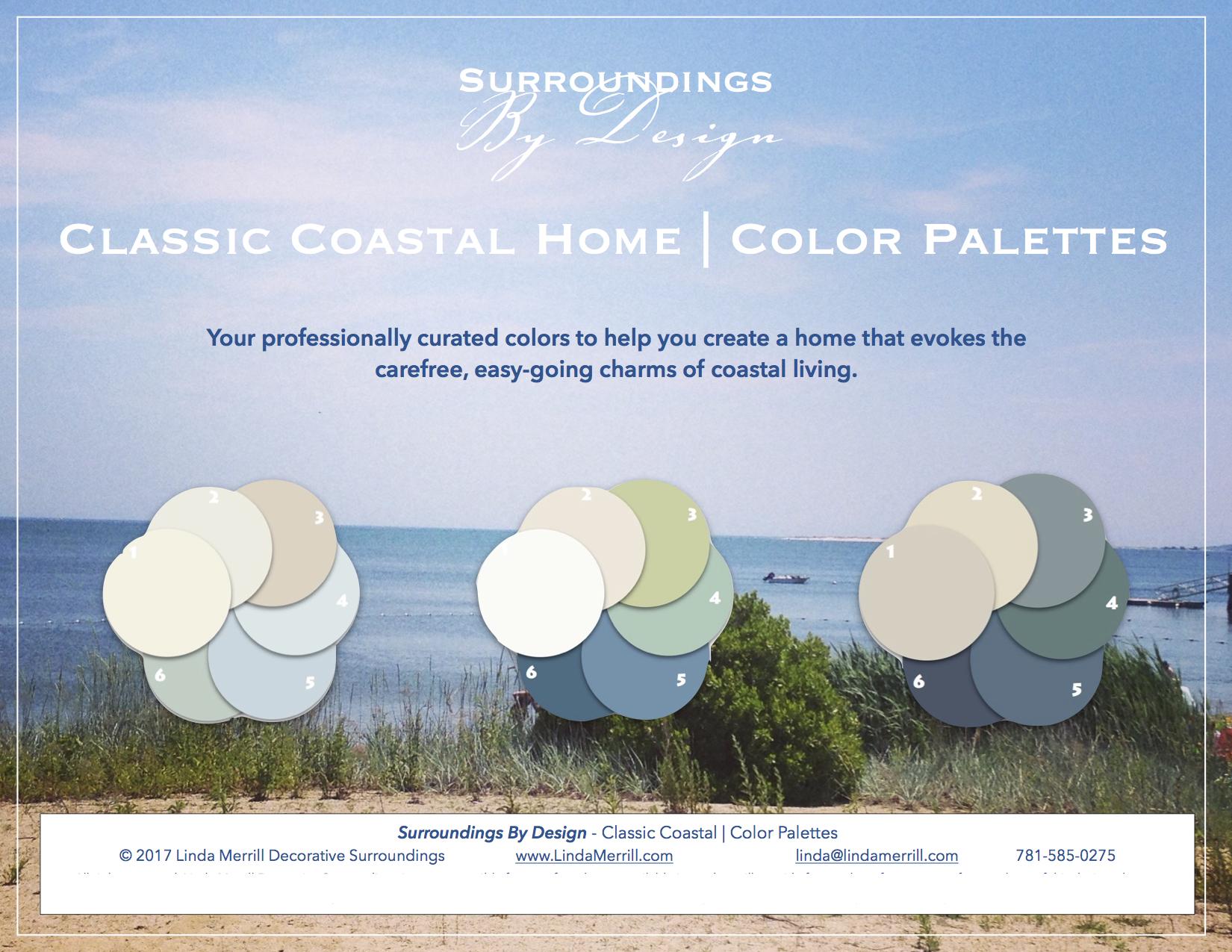 Classic Coastal Color Palette