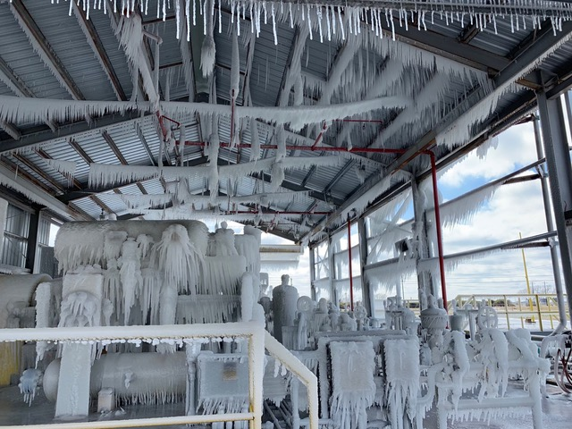 frozen texas foam factory